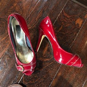 Steve Madden Red Heels great in photo shoots 7.5